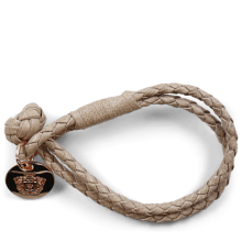 Bracelets Caro 1 Woven Rope Accessory Rose Gold