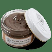 Cirage & lait Taupe Gabardine Cream Premium Cream Taupe Gabardine