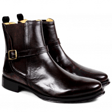 Bottines Cleo 24 Paston Dark Brown Elastic Dark Brown HRS