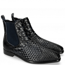 Bottines Luke 2 Interlaced Turtle Navy