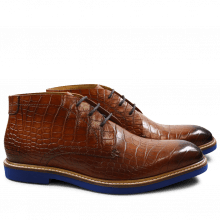 Bottines Felix 1 Big Croco Wood RP-01 Blue