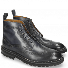 Bottines Matthew 7 Navy Aspen Black