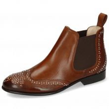 Bottines Sally 45 Mid Brown Rivets