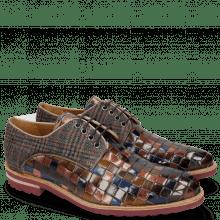 Derbies Brad 7 Classic Woven Multi Textile