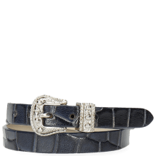 Bracelets Ines 1 Crock Navy Buckle Nickle