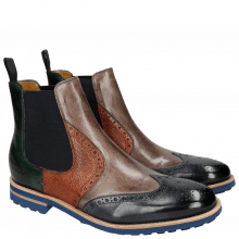 Bottines Johnny 10 Navy Stone Forest