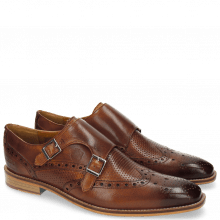Monks Martin 2 Venice Tan Venice Perfo Tan LS Natural