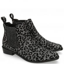 Bottines Marlin 4 Leo Glitter Gunmetal