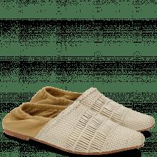 Mocassins Joolie 12 Mesh Nappa Pearlized Cashmere
