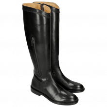 Bottes Sally 117 Crust Black Lining Rich Tan