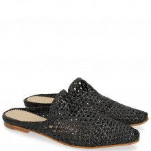Mules Joolie 14 Woven Black