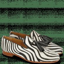 Mocassins Scarlett 20 Hairon Zebra