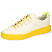 Sneakers Harvey 35 Vegas White Lycra Yellow