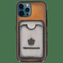 Coque iPhone Twelve Pro Vegas Rich Tan Wallet Oxygen