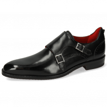 Monks Dave 3 Black Lining Red