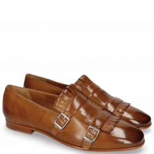 Monks Clive 18 Wood Lining Nappa Rich Tan