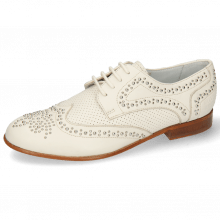 Derbies Sandy 1 Nappa Ivory Perfo