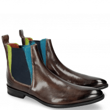 Bottines Toni 6 Stone Hair On Ice Blue Green
