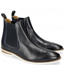 Bottines Daniel 7 Venice Perfo Navy