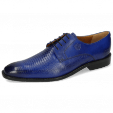 Derbies Xabi 3 Venice Lizzard Electric Blue