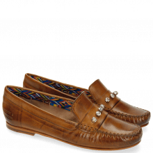 Mocassins Bridget 3 Milano Tan Rivets