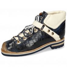 Bottines Eliza 1 Crock Navy Vegas White