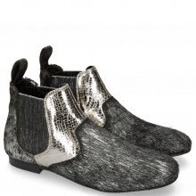 Bottines Sonia 4 Hairon Breeze Silver Cromia Gunmetal