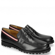 Mocassins Pit 4 Black Strap