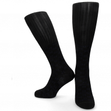 Chaussettes Jamie 1 Knee High Socks Black Blue