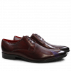 Derbies Toni 8 Burgundy Purple Flame