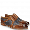 Monks Martin 2  Berlin Tan Perfo Navy