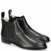 Bottines Susan 10 Salerno Perfo Black Elastic Black Flex