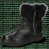 Bottines Fay 10 Nappa Glove Black Fur