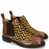 Bottines Sally 45 Turtle Mid Brown Hairon Driveway