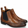 Bottines Rico 12 Venice Python Mid Brown Rio Wood