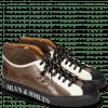 Sneakers Harvey 13 Suede Pattini Navy Brown Stone Vegas White Screen White