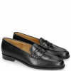 Mocassins Mia 1 Black Lining Rich Tan