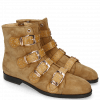 Bottines Susan 44 Suede Chilena Tan Strap Sand