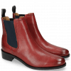 Bottines Xsara 1 Venice Red Elastic Navy Rubber Navy
