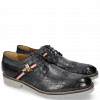 Derbies Eddy 25 Crock Navy Strap