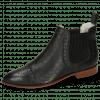 Bottines Jessy 55 Nappa Glove Perfo Black