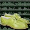 Derbies Jenny 8 Perfo Mid Green