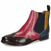 Bottines Selina 6 Mulberry Pink Indy Yellow Ice Lake