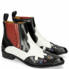 Bottines Marlin 25 Black Venice White Ruby Underlay Multi