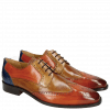 Derbies Jeff 14 Orange Tan Sand Orange Electric Blue