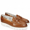 Mocassins Mia 1 Turtle Tan Crock Binding Snake Sand