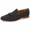 Mocassins Clive 20 Suede Pattini Navy