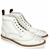 Bottines Matthew 7 Milled White Rivets