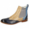 Bottines Amelie 5 Vegas Navy Wind Perfo Sand