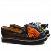 Mocassins Bea 4 Crust Dark Brown Tassel Multi Z Navy